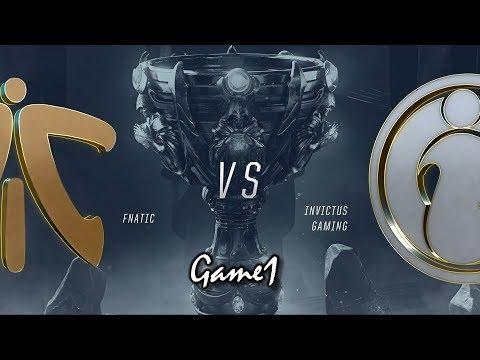 【2018全球總決賽】決賽 FNC vs IG #1 ...