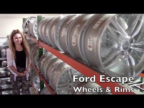 Factory Original Ford Escape Wheels & Ford Escape Rims – OriginalWheels.com
