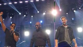 """CMT Crossroads: Boyz II Men + Brett Young   """"End Of The Road"""" (Take 2)"""