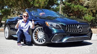 The Mercedes AMG S65 Cabriolet Is The Ultimate Extravagance! | TEST DRIVE