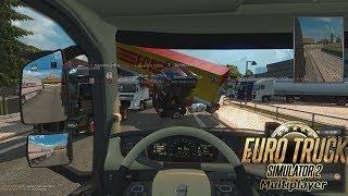 Дорога дураков свежая ПОДБОРКА ПРИКОЛОВ. Euro Truck Simulator 2 Multiplayer Funny Moments