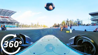 Damien Walters Formula E Backflip In 360 Degrees