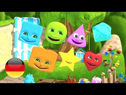 Wir lernen Formen | Kinderlieder | Animation Für Kinder | Vorschulische Lieder | We Are Shape
