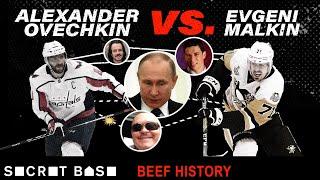 Alex Ovechkin & Evgeni Malkin's beef had big hits, a nightclub fight, and Yanni