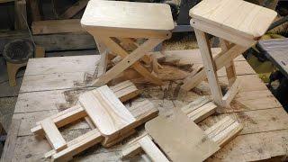 Как сделать стульчик для рыбалки из дерева