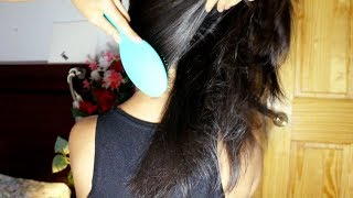 ASMR Hair Brushing, LOTS OF UPWARD BRUSHING + Hair Massage Hair Play (FASTER PACE)