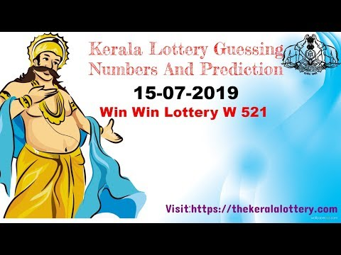 Download Kerala Lottery Guessing Trick For 15 7 19 Win Win 521 Video