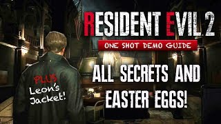 Resident Evil 2 Remake ALL SECRETS & Easter Eggs You May Have Missed Part 1