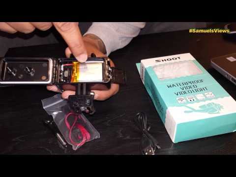 GOPRO 4 WATERPROOF LED VIDEO LIGHT BY SHOOT REVIEW