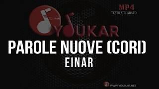 KARAOKE Einar   Parole Nuove (cori)
