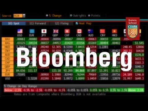 Manejo y utilidades de Bloomberg
