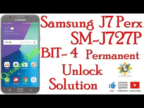 Samsung J727P Bit4 Unlock Solution Without Credit - MR