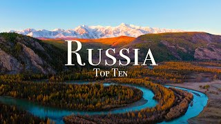 Top 10 Places To Visit In Russia - 4K Travel Guide
