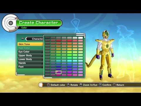 Dragon Ball Xenoverse : Creation of Golden Cellza