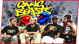 BEEF STARTING WITHIN THE GANG! - Gang Beasts Gameplay