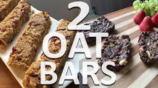 Homemade Granola Bars | Granola Bars Recipe | No Bake | Healthy Breakfast Bars | 2 Delicious Ways