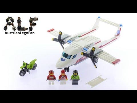 Vidéo LEGO City 60116 : L'avion de secours