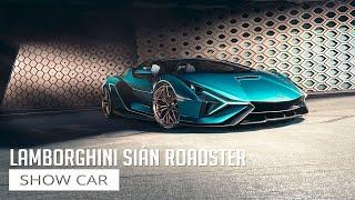 Lamborghini Sián Roadster - Show Car