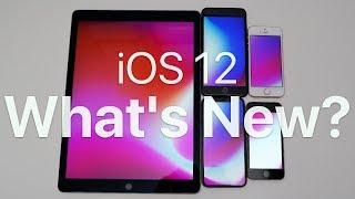 iOS 12 is Out! - Whats new?