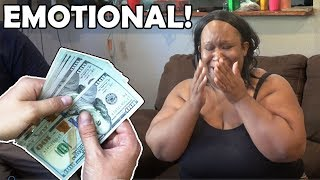 HELPING FAMILY With HUGE DONATION! Helping Struggling Family! Surprises Struggling Family!
