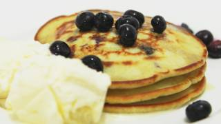 How To Make Blueberry Pancakes – Video Recipe
