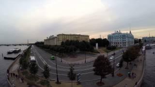 Квадрокоптер Phantom 2 над Невой, Авророй. Санкт-Петербург