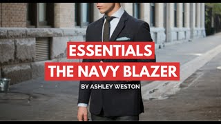 The Navy Blazer/Sport Coat - Men's Wardrobe Essentials