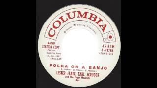 Lester Flatt & Earl Scruggs - Polka On A Banjo - 60's Bluegrass