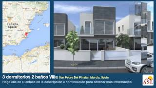 preview picture of video '3 dormitorios 2 baños Villa se Vende en San Pedro Del Pinatar, Murcia, Spain'