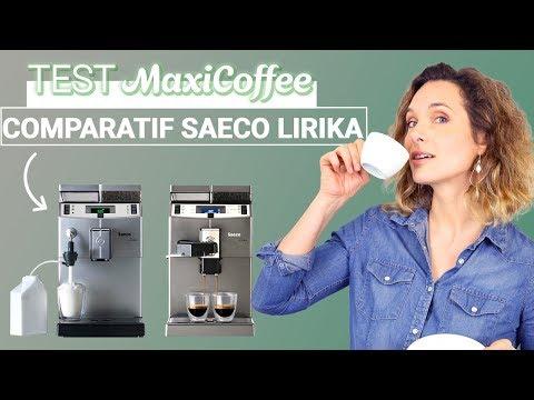 COMPARATIF GAMME SAECO LIRIKA | Machine à café grain Pro | Le Test MaxiCoffee