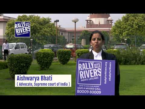 Aishwarya Bhati Rallies for Rivers