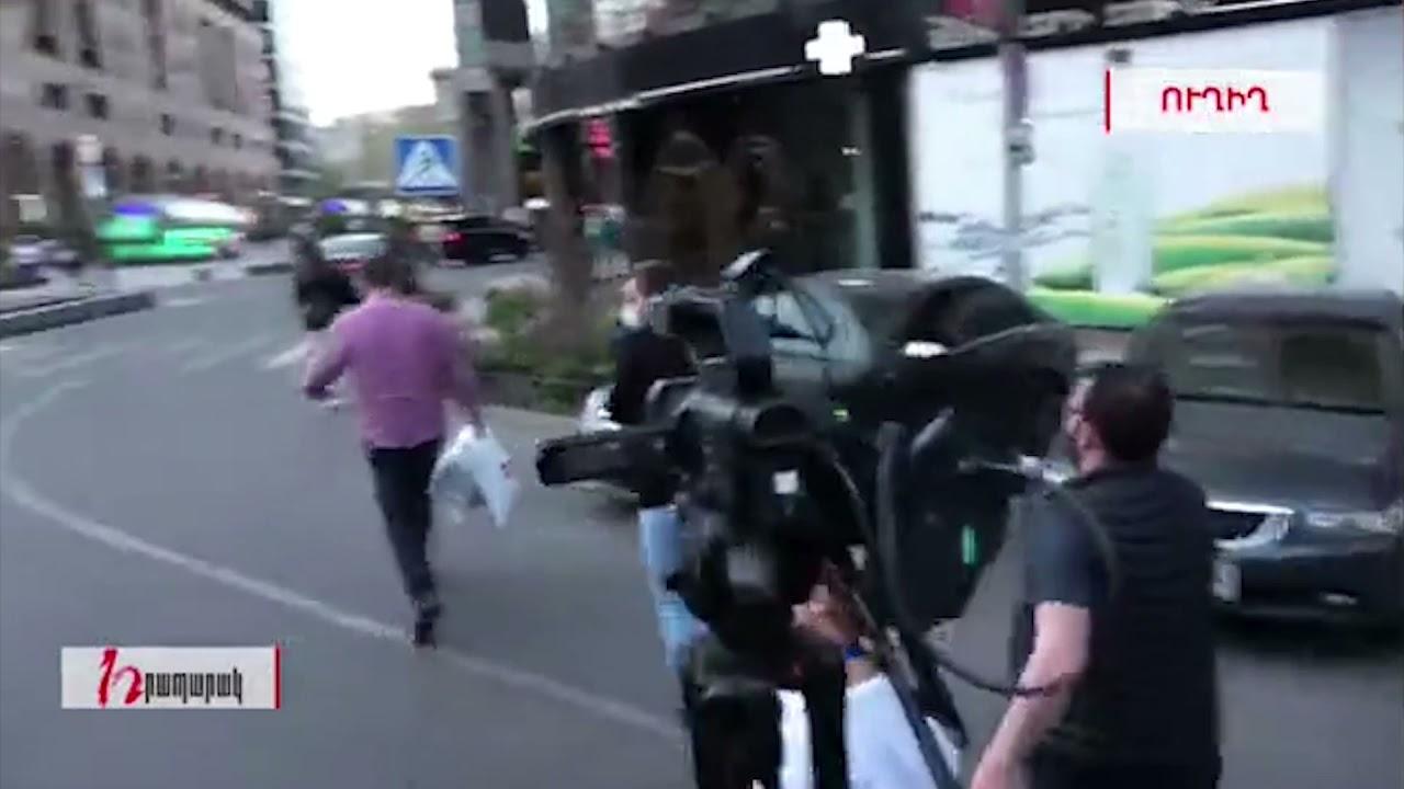 Աշխատանքից հապճեպ ազատված Ավագյանի զենքն ու համազգեստը՝ սրճարանում են վերցնում