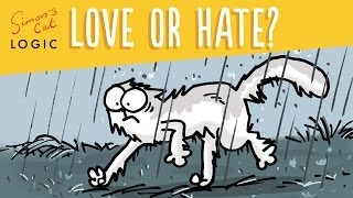 Do Cats Really Hate Water? - Simon's Cat | LOGIC