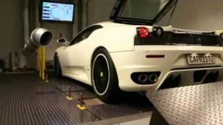 Video: Video Ferrari F430 Capristo Fächerkrümmer + 200-Zeller-Kats
