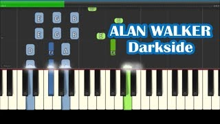 alan walker darkside piano sheet easy - TH-Clip
