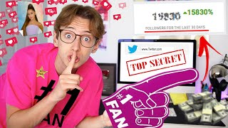 I FAKED being a FAN ACCOUNT for a WHOLE WEEK and THIS is what happened... *PRANK*