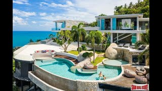 Ultra Luxury Amazing 5 Bed Sea View Villa, 270° Panorama in Chaweng Noi, Koh Samui