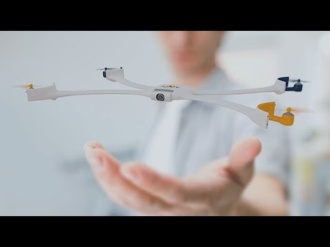 Drone that takes a Selfie for you... Make it wearable
