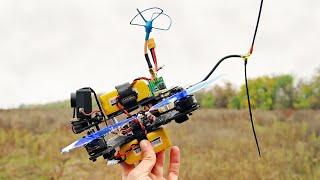 Мини квадрокоптер на 10+ км. Обзор дрона