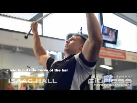 Lat Pull Downs | Personal Trainer Isaac Hall Blackwood Fitness