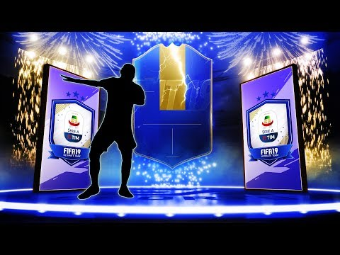 40X SERIE A 81+ PACKS! SO MANY TOTS IN PACKS! #FIFA19 ULTIMATE TEAM