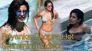 Priyanka Chopra Swimming Video at  Los Angeles | Priyanka Chopra Hot Swimming Video 2018