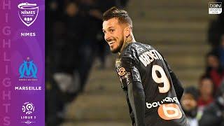 Nimes 2-3 Marseille - HIGHLIGHTS & GOALS - 2/28/2020