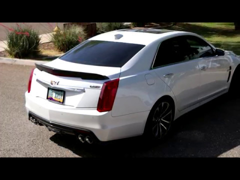 Cadillac CTS-V 2016-2017 Billy Boat Fusion Exhaust, X-Pipe and Headers