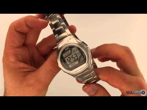 Casio Men's Wave Ceptor Radio Controlled Silver Watch WV-58DU-1AVES – Hands On Review