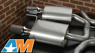 Mustang Ford Racing by Borla Sport Catback Exhaust (2015 GT) Sound Clip