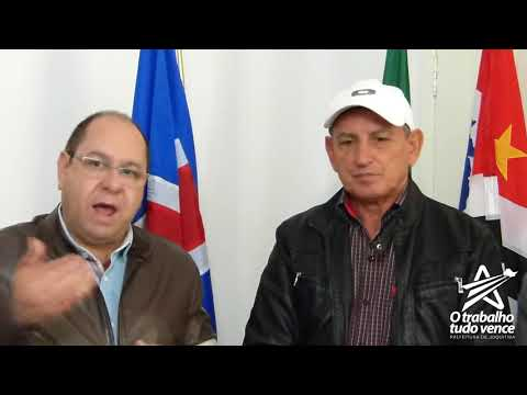 Prefeito Ayres Scorsatto recebe no seu gabinete o Deputado Federal do PT Valmir Pracisdelli