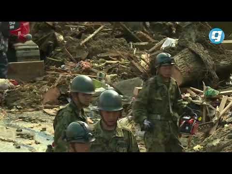 فيديو بوابة الوسط | الحصيلة الموقتة لضحايا الأمطار الغزيرة في اليابان ترتفع إلى 100 قتيل