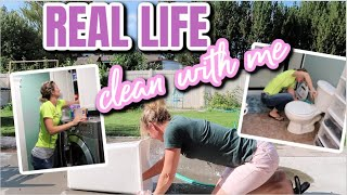 REAL LIFE CLEAN WITH ME | DECLUTTER AND ORGANIZE | VLOGUST #10