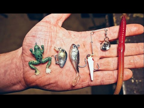 The Five Cheapest lures from Walmart! Are they any Good?